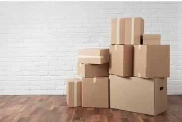 搬家公司的搬家紙箱