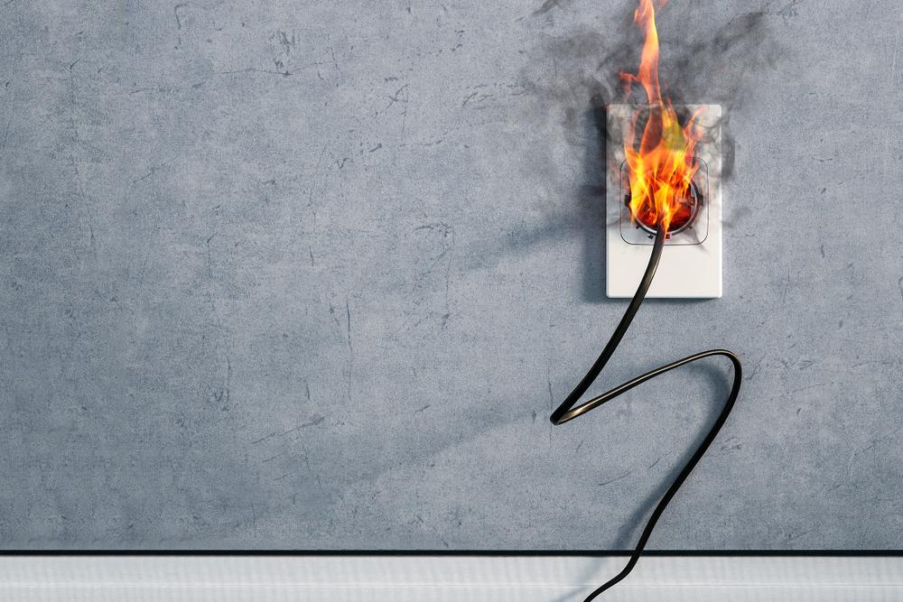 居家安全的火災迷思-電器火災不會發生