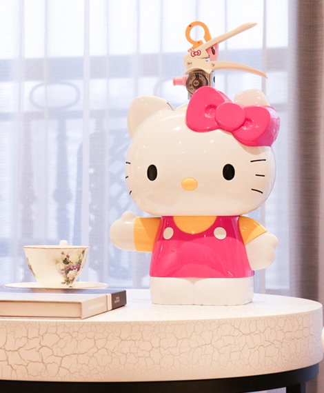 Hello Kitty滅火器台座